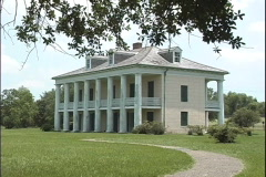 Malus Beauregard house Chalmette LA Stock Footage