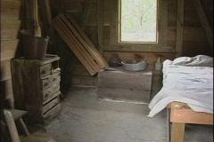 Olivier Plantation slave cabin LA Stock Footage