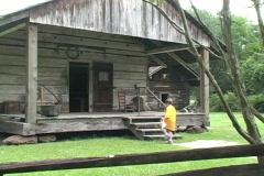 Rural Life School children at cabin La Stock Footage