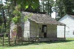 Slave cabin Audubon park La Stock Footage