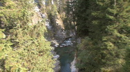Stock Video Footage of Switzerland rapids in gorge on Hinter Rein