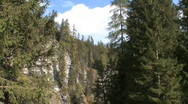 Stock Video Footage of Switzerland Gorge on Hinter Rein