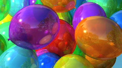Bright Balloons - stock footage