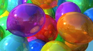 Bright Balloons Stock Footage