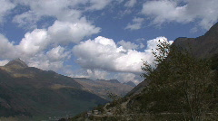 Switzerland Rhine headwaters in the Alps Stock Footage