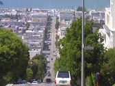 Stock Video Footage of  San Fran street