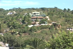 The village of Sayulita  Stock Footage