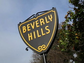 Stock Video Footage of Beverly Hills Sign 03 NTSC