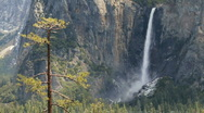Stock Video Footage of Yosemite Valley - Bridalveil falls
