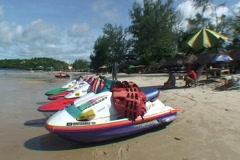 CAMBODIA-JETSKI-BEACH 2 Stock Footage