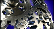 Spinning Gears (HD Video) Stock Footage