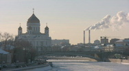 Moscow, Russia, Church, Stock Footage