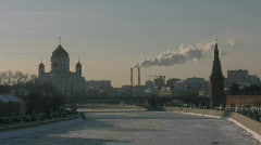 Moscow, Russia, Church Stock Footage