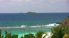 Tropical island paradise 03 Stock Footage