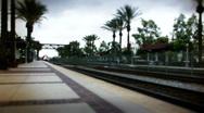 Stock Video Footage of Fast Freight Train - Swingtilt