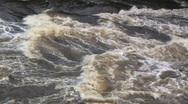 Saint Croix River Rapids Stock Footage