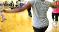 Fitness Dance Class Footage