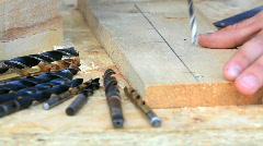 Carpenter - stock footage