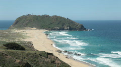 Point Sur, California Stock Footage