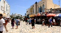 Marketplace in medina, Tunisia, Sousse HD Footage