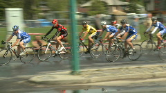 Bike Race 01 Stock Footage