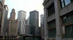 Chicago city panB-HD BCS4-7 Stock Footage