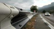 Roadside Stock Footage
