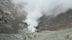 Crater Bromo Volcano  Stock Footage