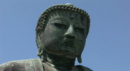 Stock Video Footage of Japanese Giant Buddha in Kamakura 1