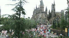 Hogwarts Castle Stock Footage