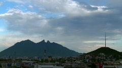 Monterrey cerro de la silla - stock footage