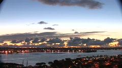 San Diego bay.nite - stock footage