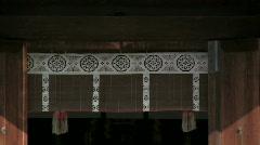 Japanese Shinto Shrine Stock Footage