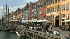Nyhavn 002 Stock Footage