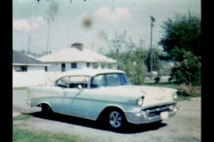 1957 Chevrolet 02a Stock Footage
