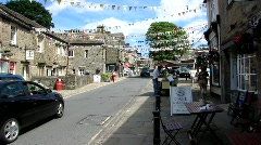 Village of Skipton 2 Stock Footage