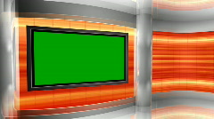 HD STUDIO LOOP 41 CHROMA Stock Footage