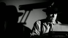 Film noir toimittaja kirjoittamalla Arkistovideo
