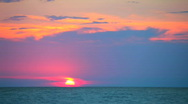 Stock Video Footage of Sunset