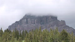Crowsnest Mountain Stock Footage