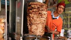 Grill. Tunisian cuisine Stock Footage