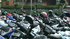 Scooters, Bali, Indonesia Stock Footage