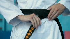Black belt Stock Footage