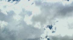 Time Lapse Cloud Spurt Stock Footage