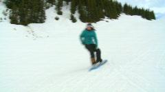 Snowboarding 11 Stock Footage