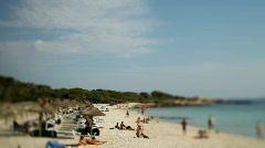 Mallorca beach spain nature coast summer sea mediterranean Stock Footage