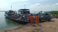 Stock Video Footage of CAMBODIA-FERRY-PASSENGERS 1