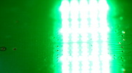 LED board Stock Footage