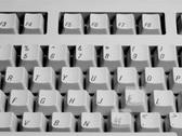 Computer Keyboard NTSC Stock Footage