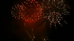 Epic Fireworks  Stock Footage